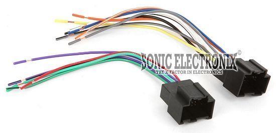 s l640 scosche gm18b wiring harness for 2007 & up chevrolet aveo ebay