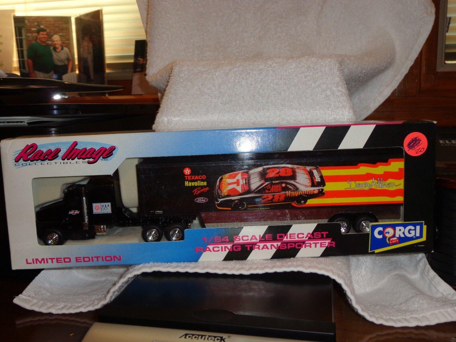 Texaco Havoline Racing Transporter Davey Allison Race Images1 64ScaleDiecast