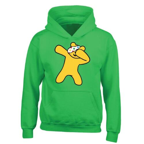 Spotty Panda DAB Cool Hommes Kids Children in Need Pull Drôle Cadeau Sweat à capuche