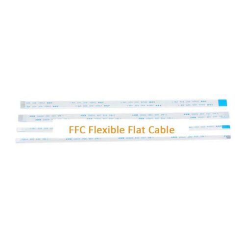 Pitch 0.5mm 6-Pin FFC//FPC Flexible Flat Cable Wire 20624 80C 60V VW-1 W:3.5mm
