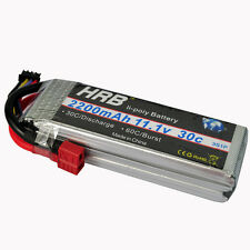 HRB TREX 450 Lipo Battery 11.1V 2200mAh 30C-60C RC Car Fixed-Wing Helicopter US
