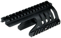 Tactical Aluminum Shotgun Rail Mount Fits 12 Gauge Remington 870