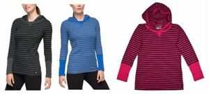 NEW-Marc-New-York-Women-039-s-Long-Sleeve-Hooded-Thermal-Pullover-Shirt-VARIETY