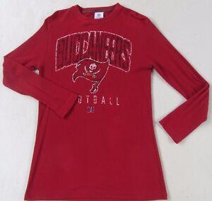 NFL Apparel Tampa Bay Buccaneers Men's LS Crewneck Red Thermal  supplier