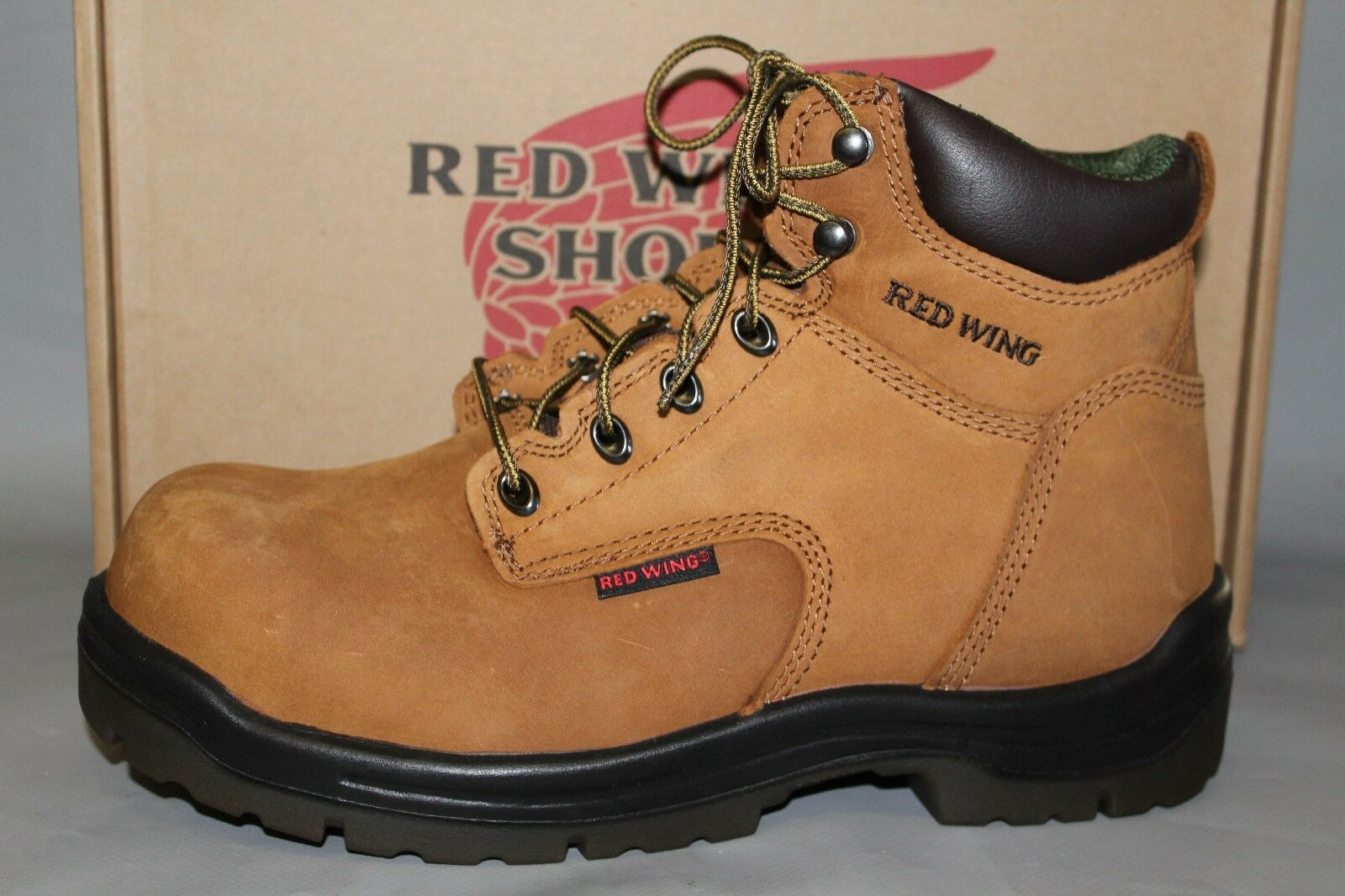 NEW Men's Red Wing  2240,  Waterproof 6  Leather Composite Safety Toe Work Boot
