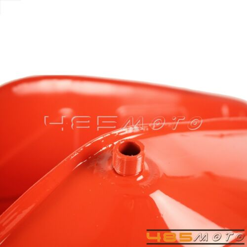 Red Steel Fuel Gas Petrol Tank /& Side Cover Toolbox Lid For Simson S50 S51 S70