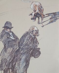 Claude-Weisbuch-all-Barristers-Lithography-Original-1984-Certificate