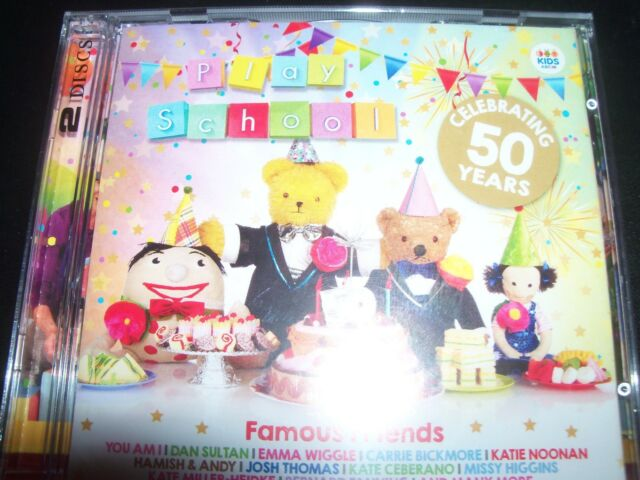 Play School: Famous Friends (Celebrating 50 Years) Various Artists 2 CD - New