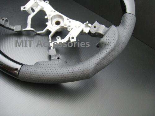 MIT Toyota FJ200 LAND CRUISER 2008-14 Black Piano leather steering wheel-SPORTS