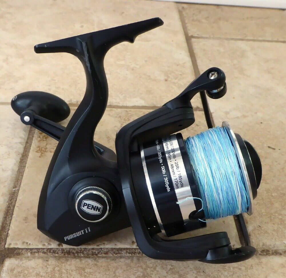 LIGHTLY USED PENN PURSUIT 6000 SPINNING REEL