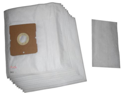 10 Vlies Staubsaugerbeutel passend für Dirt Devil M 7009-1 Paroly M 7006