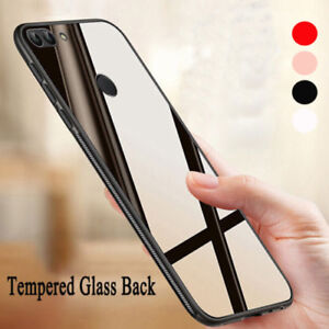 Details about For Huawei P30 Pro P20 P10 Honor 8X Y7/9 Hard Mirror Back  Soft Bumper Cover Case