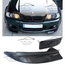 CARBON FLAPS BUMPER FOR BMW E46 98-05 SERIES 3 M-PACKET BODY KIT SPOILER NEW