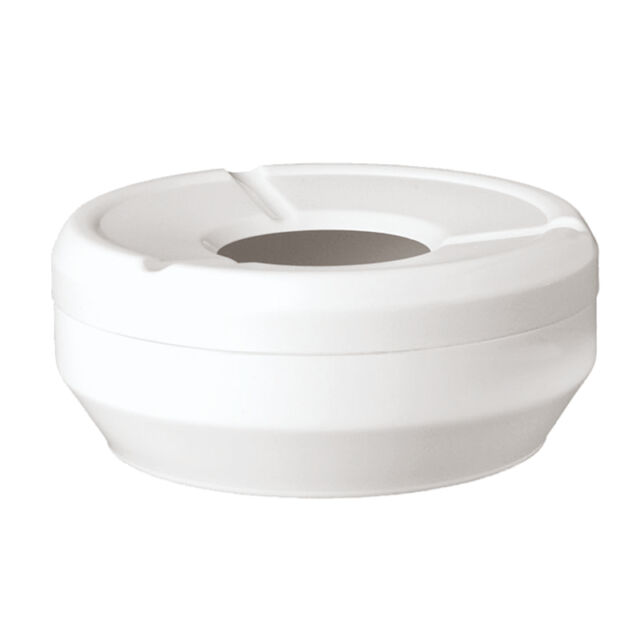 Melamina Antiscivolo Paderno Sambonet Posacenere Impilabile Bianco