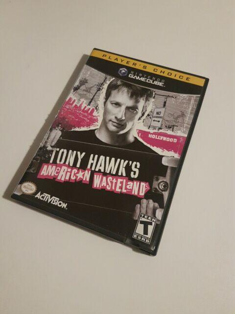 Tony Hawk's American Wasteland (Nintendo GameCube, 2005) CIB Complete Manual