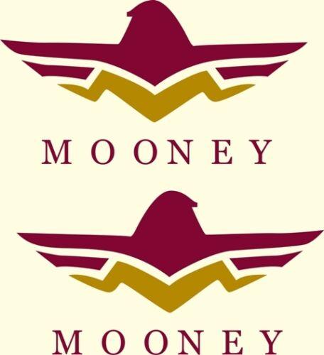 Mooney  Aircraft Decal 3/'/'h x 7.5/'/'w!