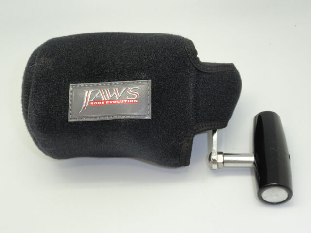JAWS size XL reel cover for ACCURATE AVET PENN SHIMANO 30/'S BIG GAME ONE TWO SPD