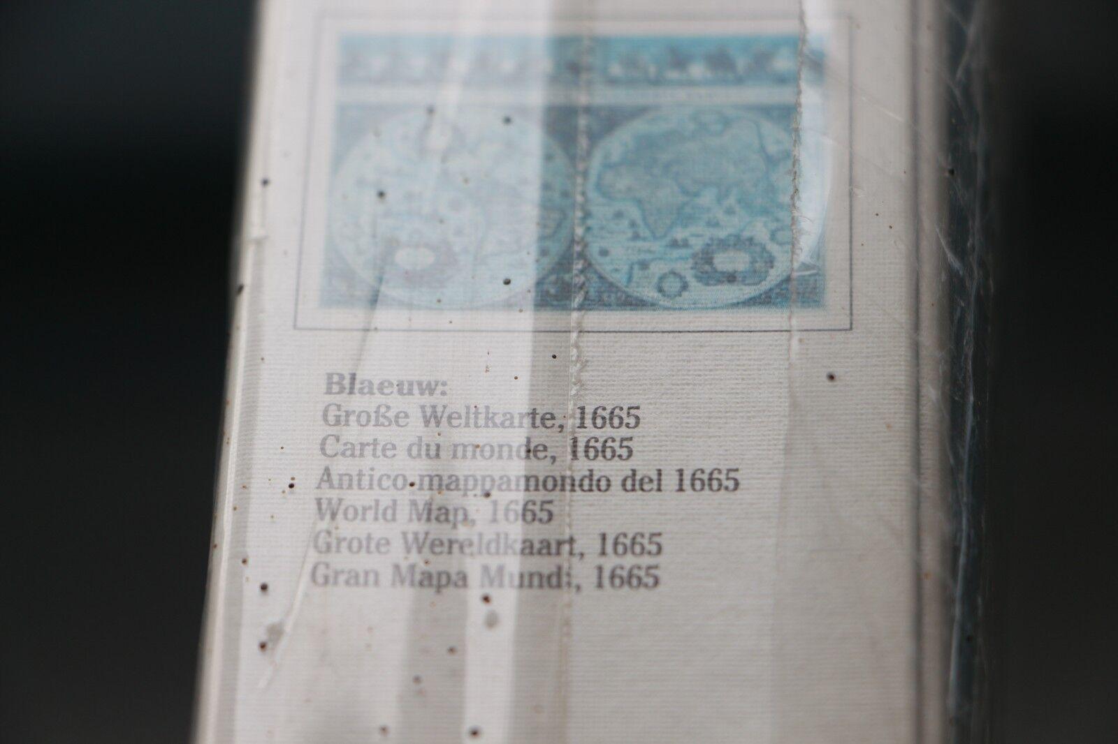 RAVENSBURGER PUZZLE 170548 WORLD MAP 1665 1994 NEW  YEAR 1994 1665 IN SEALED BOX b0e6bc