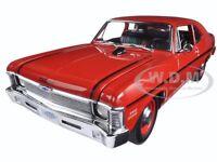 1970 Chevrolet Nova Yenko Deuce Cranberry Red Ed To 660pcs 1/18 By Gmp 18830