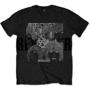 The-Beatles-Reverse-Revolver-Official-Merchandise-T-Shirt-M-L-XL-Neu