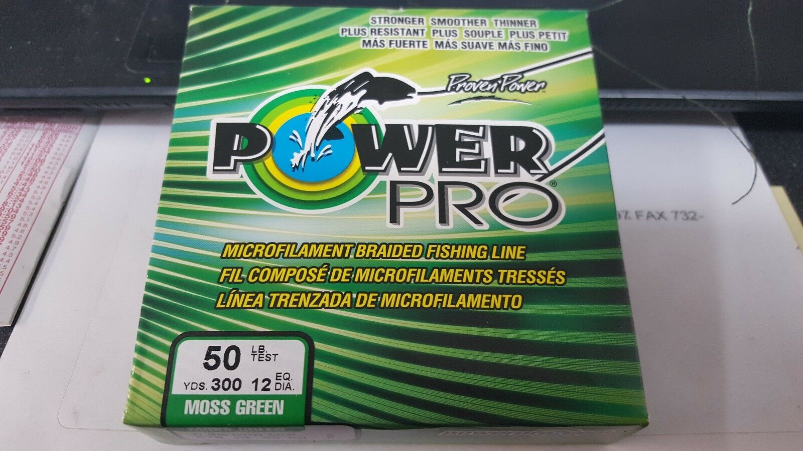 1 Spool Power Pro Spectra Braid Braid Spectra Moss verde 50 Pound - 300 Yards NEW b9f1aa