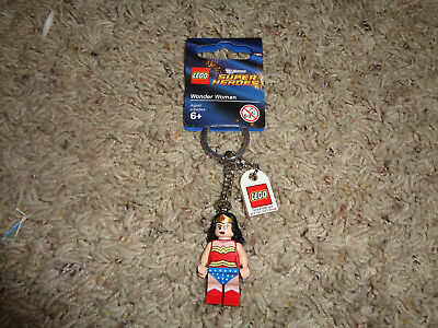 Custom Bricks Keychain Wonder Woman DC Comics Superhero Wonderwoman Key Chain