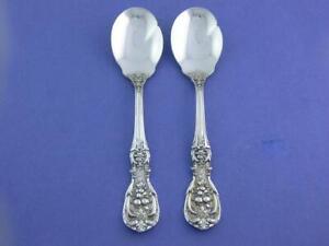 "Reed /& Barton Francis I Sterling Silver Cream Soup Spoon Old Mark NO MONO 6/"""