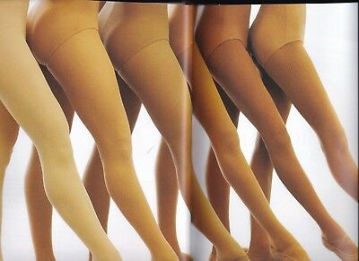 NEW CAPEZIO TRANSITION 1916 convertible ladies TIGHTS 8 Colors selfknit waist