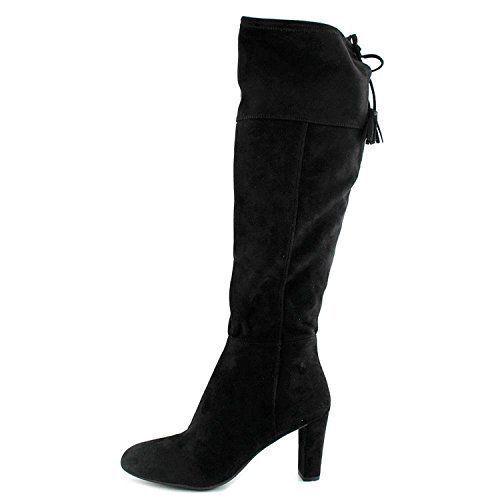 servizio premuroso INC donna Hadli nero Over The The The Knee stivali Heels 9M 9 Medium (B,M) New No Box  nuovo sadico