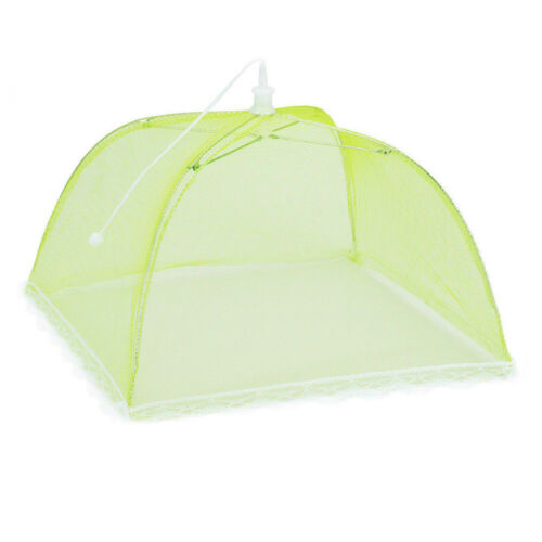 US Large Pop-Up Mesh Screen Protect Food Cover Tent Dome Net Umbrella Picnic NEW