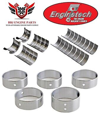 Enginetech Rod /& Main Bearings Kit Chevy 400 Small Block