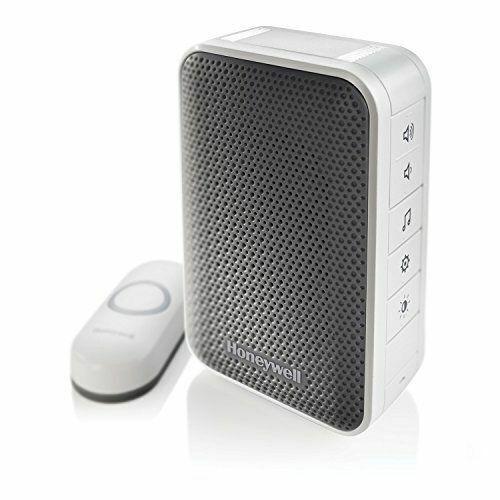 Honeywell RDWL313A2000//E Series 3 Portable Wireless Doorbell//Door Chime /& Push Button