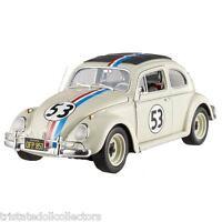 Disney's Herbie The Love Bug 1:18 Le Vw '14 Hot Wheels Elite Die-cast_bcj94_nrfb