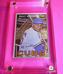 1967 Topps Baseball #315 Billy Williams HOF Cubs NrMt NM High Grade