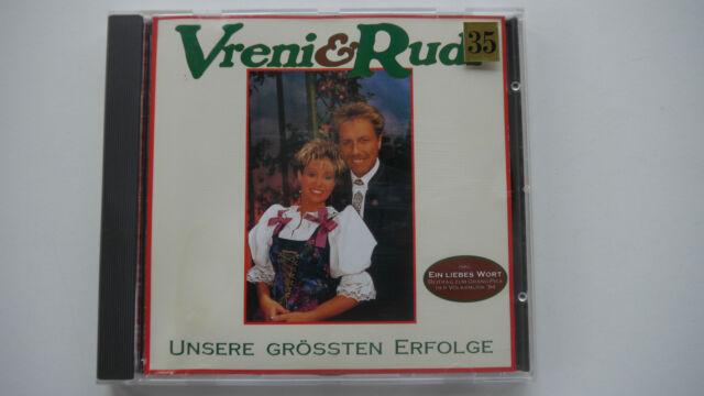Vreni & Rudi - Unsere grössten Erfolge - CD