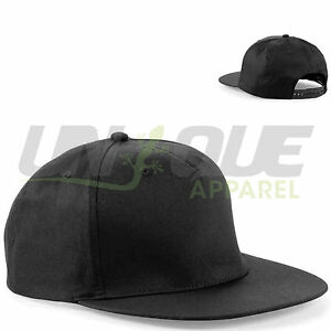 PLAIN-SNAPBACK-HATS-CAPS-FLAT-PEAK-FUNKY-RETRO-BASEBALL-CAP-COOL-DOPE-BOYS-MENS