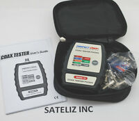 Coax 4 Rooms Cable Toner Tester Tracker Mapper Catv W/ Case Perfect Vision Pvcm4