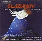 Glazunov Symphony 3 Ballade Audio CD