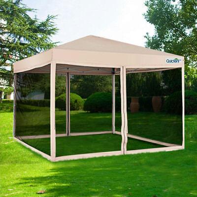 Quictent Outdoor Canopy Gazebo Party Wedding tent Screen