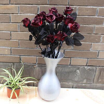 x10 Blume Getrocknet Natürlich Watte Kopf Weiß Neu Haus Hochzeit Dekoration DIY