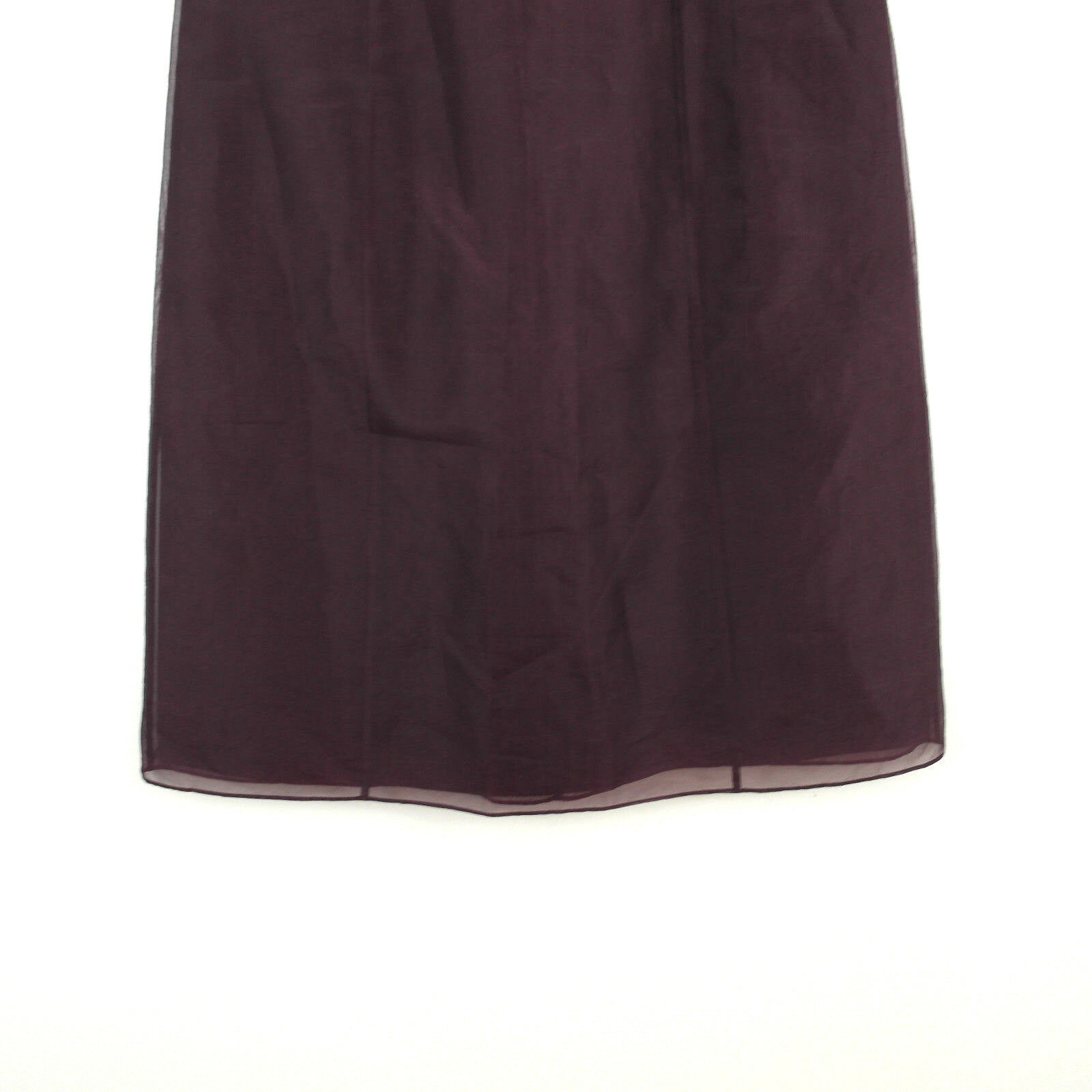 Ann Taylor Sleeveless Silk Dress Dress Dress Size 4 Embellished Empire Waist Plum e48d0f