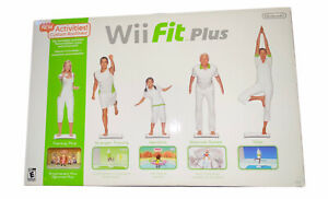 Nintendo Wii Fit Plus Balance Board With Game Tested Works Great! In Box