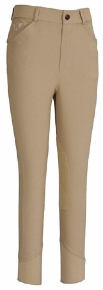 TuffRider  Boy's A-Circuit Knee Patch Breeches - Sarfari Tan NEW  online shopping and fashion store