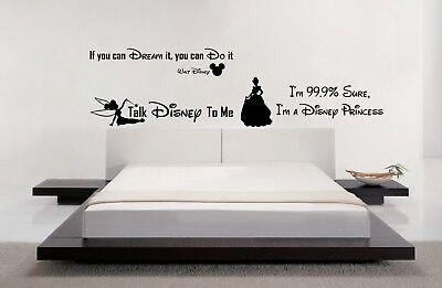 Batman Quote/'s DC Comic Wall Art Stickers Disney Decals Bedroom Home Decorations
