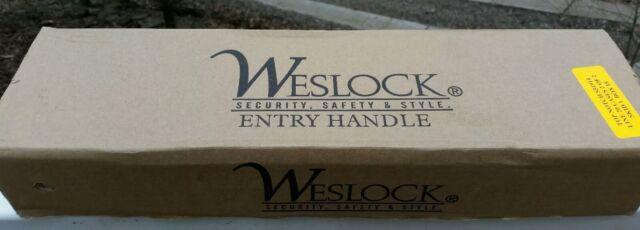 hall NEW IN BOX Weslock 03700P1P1SL20 Utica Lever Oil-Rubbed Bronze door