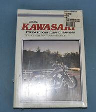 1996-98 Kawasaki VN1500 Vulcan Clymer Service Shop Repair Manual New In Plastic