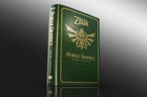 "JAPAN NEW The Legend of Zelda Art Book /""The Legend Of Zelda Hyrule Graphics/"""