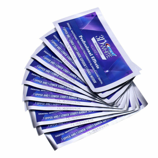 Crest 3d White Luxe Professional Effects Teeth Whitening Strips