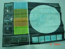 Official 1969 Rand McNally Map of the Moon Apollo Lunar Science Landings New