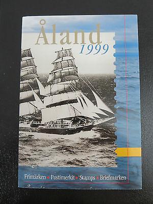 Herzhaft Briefmarken Aland Jahressatz 1999 Postfrisch Im Originalfolder Segler Pamir Briefmarken Aland